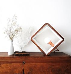 Turn your lighting on edge with this cool geometric lamp.