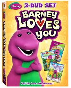 Barney: Barney Loves You DVD Giveaway
