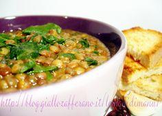 Zuppa di lenticchie e bietola, Ricetta zuppa invernale