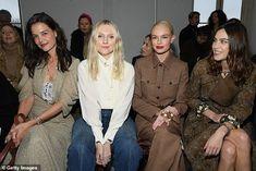 Celebrity Photos, Celebrity Style, Lady Amelia Windsor, Kaia Gerber, Kate Bosworth, Katie Holmes, Victoria Dress, Winter Trends, Parisian Chic