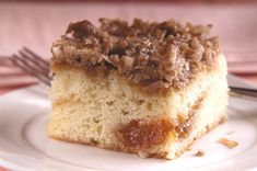 Find two tart apples to give our yummy Apple Streusel Coffee Cake its big apple flavor. You'll love this Apple Streusel Coffee Cake any time of the day!