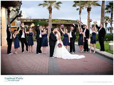 Lindsay & Austin tied the knot at the beautiful Hotel Galvez in Galveston, Texas | Texas Wedding Guide