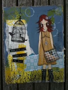 She art girl no 6 by LiLLYiCiTY, via Flickr