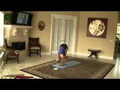 1 month 10 min a day yoga workout challenge.