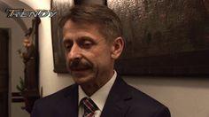Rozmowa z burmistrzem Biecza  podczas rozpoczęcia Kromer Festival