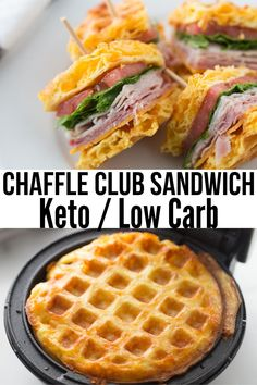 This highly popular recipe for Easy Keto Chaffle is taking the keto world by storm. It's super easy to make, versatile, and delicious. Ketogenic Recipes, Low Carb Recipes, Egg And Grapefruit Diet, Egg Diet Plan, Fat Foods, Low Carb Diet, Low Carb Meals, Dessert, Keto Dinner