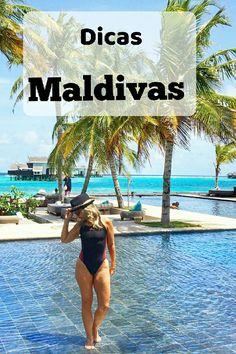 As ilhas Maldivas são um país arquipélago, localizado no Oceano Índico, a sudoeste da Índia e do Sri Lanka, formado por nada menos do que 1.190 ilhas! #travel #maldives