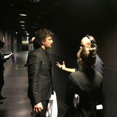 Jonas Kaufmann, backstage of Victoires de la Musique.