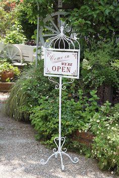 【楽天市場】オープン&クローズスタンドバードホワイト OPEN CLOSE 店舗 看板 アイアン:通販のTK style shop