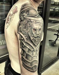 tattoo lion 3d on arm  #3dtattoo #lion #liontattoo #tattoo