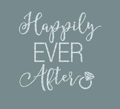 Happily Ever After Iron On Decal by GirlsLoveGlitter on Etsy