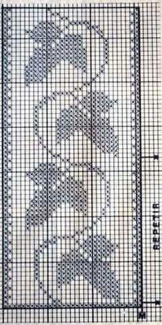 Crochet Waffle Stitch, C2c Crochet, Filet Crochet, Learn To Crochet, Crotchet Patterns, Christmas Crochet Patterns, Bead Loom Patterns, Cross Stitch Borders, Cross Stitch Designs