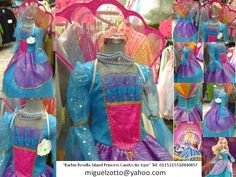 Barbie rosella island princess peacock costume dress disguise dressup cosplay ball gown cupcake cheap national glitz pageant contest themed performer party play sweet 16 fiusha turquoise blue gold bat mitzvah presentation 3 year prom quince quinceanera for girl or adult  traje vestido disfraz princesa de la isla  presentacion de 3 años boda paje graduacion kinder pavoreal