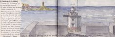 Vista de la Torre de Hércules desde Mera