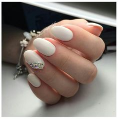 Uñas almond shape
