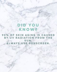of Skin Aging Is Caused by UV Radiation From the Sun. Always Use Sunscreen! Skins Quotes, Tips Instagram, Bb Beauty, Beauty Care, Natural Beauty, Clean Beauty, Hair Beauty, Baking Soda Uses, Get Rid Of Blackheads