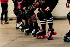 Lille Roller Girls Bootcamp. Roller derby.