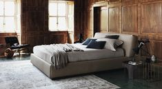 Dashing bed brings together contemporary and classic design