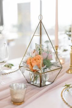 Check out this Totes Gorgeous Coral Peach and Mint Spring Wedding! Totes Gorgeous Coral Peach and Mint Spring Wedding! Wedding Flower Arrangements, Wedding Table Centerpieces, Flower Centerpieces, Wedding Decorations, Stage Decorations, Wedding Mint Green, Floral Wedding, Rustic Wedding, Wedding Flowers