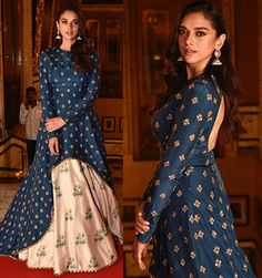 Aditi Rao Hydari Dresses To Wear To A Wedding, Indian Wedding Outfits, Indian Outfits, Indian Attire, Indian Dresses, Indian Wear, Indian Designer Outfits, Designer Dresses, Traditional Fashion