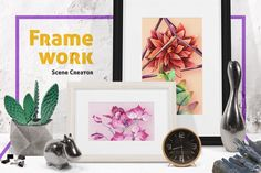 Buy Framework Scene Creator by pixelbuddha_graphic on GraphicRiver. Framework Scene Creator is designed to let you present your work in the most creative and artistic way possible! Art Clipart, Flower Clipart, Scene Creator, The Creator, Adobe Photoshop, Mockup Photoshop, Stickers Design, Clip Art, Packaging