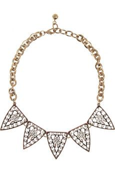 Luly Frost - Galaxy gold-plated crystal necklace - Dreamy!!!!