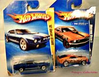 '09 Mustang Mach 1 & 10' 67 Shelby GT500 Hot Wheels