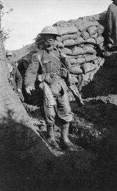 WW1, 1916, Battle of the Somme: Slightly wounded man returning after the attack on Mametz Wood.