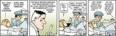 One of the censored Doonesbury comics regarding the new Texas abortion laws.