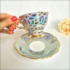 Royal Albert Teacup Brilliant Opalescence by EllasAtticVintage
