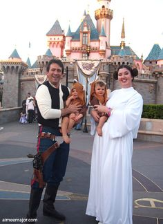 Star Wars Family Costumes by aimeekitty.deviantart.com on @deviantART