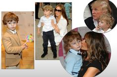 must be in his #genes! child of donald and melania #trump, #barron is stealing…