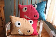 Dinosaur Duo Pillows