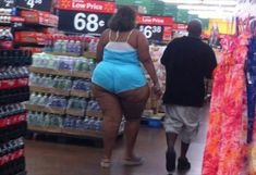 Amazon Woman Spotted at Walmart - Funny Pictures at Walmart