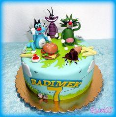 Oggy a švábi | dorty od mámy