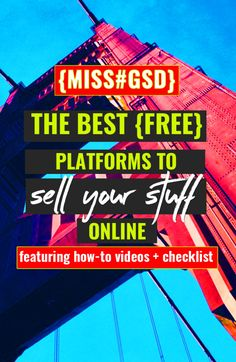 The people who said you've gotta spend money to make money clearly didn't know how awesome the interwebs would be at helping you sell your stuff without putting any money down to get started.    We'll take a look at some of the FREE options you have to put those wares of yours up for sale.