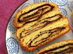 Post image for Gluten Free Chocolate & Cinnamon Babka Bread.