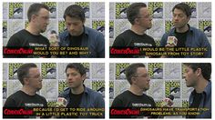 """""""Dinosaurs have transportation problems, as you know."""" - Misha Collins"""