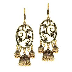 Bollywood Trendy Fashion Oxidized Gold Finish Jhumka Earr... https://www.amazon.com/dp/B01KL3BPPY/ref=cm_sw_r_pi_dp_x_MG9bybPQ6P1VH