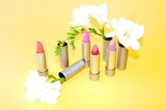 Organic Makeup For People Who Don't Like Organic Makeup: http://intothegloss.com/2014/04/best-natural-lipstick/