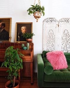 Sven Grass Green Sofa (With images) Cheap Home Decor, Cute Home Decor, Living Room Designs, Interior, Room Design, Home Decor, Vintage Home Decor, Home Decor Accessories, Home Decor Inspiration