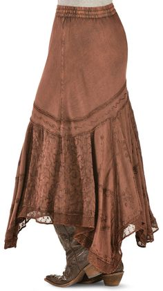 Denim Skirt Outfits, Midi Skirt Outfit, Boho Outfits, Fashion Outfits, Summer Outfits, Hippie Skirts, Bohemian Skirt, Gypsy Skirt, Boho Skirts