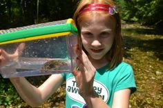 """Campers can go """"wild"""" at Wild Child Summer Camp at the Wildlife Rescue Center."""