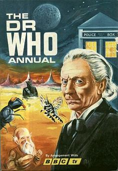 The Dr Who Annual 1966 by BBC TV ft. William Hartnell