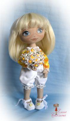 Солнышко в каталоге Игрушки на Uniqhand - подарок, кукла, текстильная кукла…