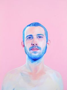 blue beard Art Print by Jen Mann Art And Illustration, Figure Painting, Painting & Drawing, Painting Inspiration, Art Inspo, Design Inspiration, Pen & Paper, Beard Art, Kunst Online