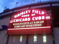 Great road trip! Go watch the Giants when they play the Cubbies at Wrigley Field.Well, every stadium is on my bucketlist.