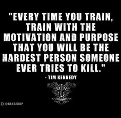 Daily fitness motivation in order to achieve your goals in the gym. Whether you want to build muscle or lose fat, we will help you. Great Quotes, Quotes To Live By, Me Quotes, Motivational Quotes, Inspirational Quotes, Tim Kennedy, Ju Jitsu, Military Quotes, Warrior Quotes