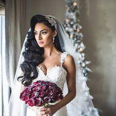 Bridal Hair Down With Veil, Veil Hair Down, Long Bridal Hair, Vintage Bridal Hair, Wedding Hair Down, Long Hair, Wedding Veils, Short Hair, Wedding Vintage