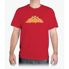 Candy Corn Cat - Mens T-Shirt